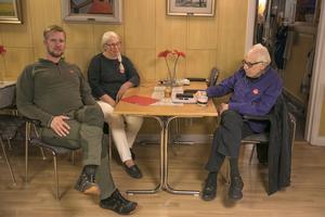 Helen Toresson, Jonas Högdahl och Håkan Toresson är en del av  Hallenbygden i samverkan.