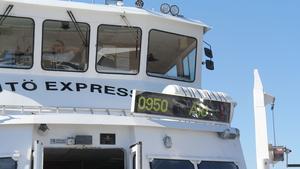 Med båttrafiken i gästhamnen kan man ta sig ut i skärgården.