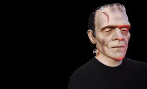 Författaren Mary Shelley skrev om Frankensteins monster. Foto: TT