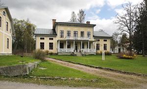 Strömbacka herrgård byggdes 1864.