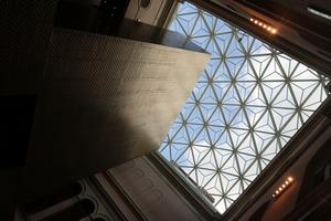 Sjölins smide var stålbyggare vid renoveringen och ombyggnationen av Nationalmuseum. Bild: Stålbyggnadsinstitutet.
