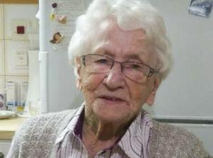 Ida Sundberg i Stigsjö fyller 100 år. Det firar hon med öppet hus på Brunnegården för släkt och vänner.