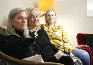 Lena Wiking från NBV, och Maria Comstedt och Josephine Hedlund från föreningen AHA, är alla eldsjälar i kampen mot droger.