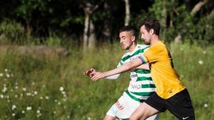 Marcus Theng nickade in viktiga 1-0 i lördagens hemmamatch mot serieledarna IFK Eskilstuna.