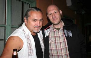 År 2010. Marek och Micke och på Blue Moon Bar.