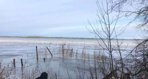 Maria Berg besökte badplatsen Botten på Jägaråsen i början av februari och tog då den här bilden.