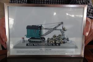 En av alla maskiner som tillverkats vid Sala Maskinfabriks AB.