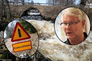 Tvingades förstärka dammar för vårfloden – säkerhetschefen: