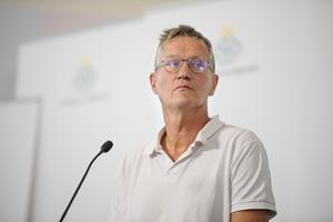 Statsepidemiolog Anders Tegnell. Nu börjar utländsk press skriva positivt om den strategi han och Folkhälsomyndigheten står för. Foto: TT.