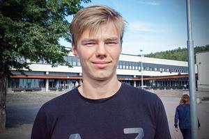 Oscar Wallin, 18, studerande, Sundsvall: