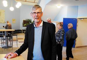 Landstingsrådet Gunnar Barke (S) är glad över landstigets rekordstora överskott - 246 miljoner för 2017.