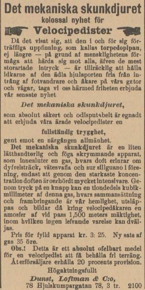 ÖP, 15 juli 1895.