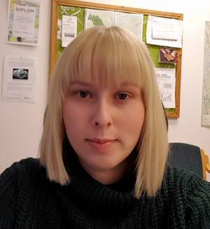Johanna Sjölund, energi- och klimatrådgivare på Ljusdals kommun.
