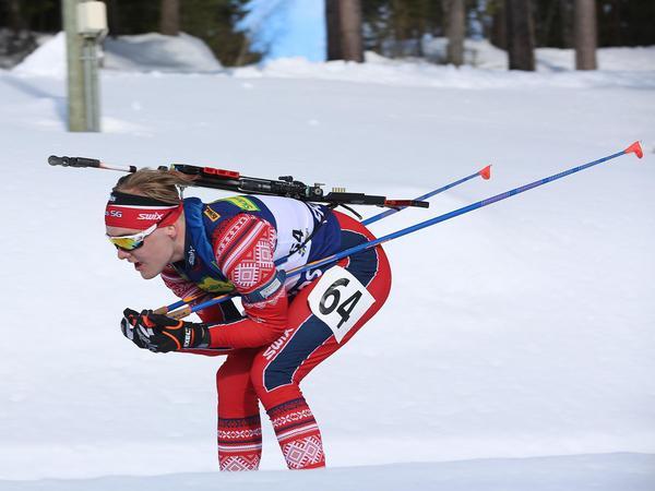 Oskar Ohlsson, Tullus, tog brons i sprintens H20-21-klass.