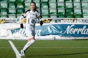Umeås lagkapten Johanna Nyman.