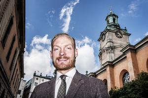 Aron Emilsson (SD).Foto: Tomas Oneborg
