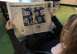 De artiklarna som är aktuella i media nu om läget i SD lokalt är korrekta, och det är än värre, skriver signaturen NN i Sundsvall. Foto: Maria Lindberg