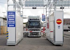 Alkobommar är ett sätt att kontrollera yrkesförares nykterhet vid hamnarna. Bilden är från Göteborgs hamn. Foto: Adam Ihse/TT