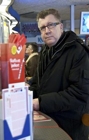 """Ulf """"Post-Uffe"""" Svensson tippar och har haft bra flyt sista tiden."""