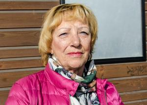 Margareta Sandberg, 60+. pensionär, Sundsvall
