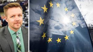 EU har satt ned foten gällande upphovsrätt på nätet. Ett beslut som är ett hinder för utvecklingen, skriver Fredrik Federley. Bilden är ett montage,