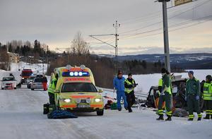 Varningsmärken saknades vid järnvägsövergången i Björnänge där en person omkom.