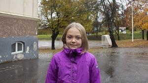 Ella Rubensson, 9 år, elev, Fagervik.