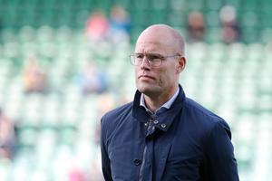 Joel Cedergren, tränare i GIF Sundsvall. Foto: Therése Ny / TT