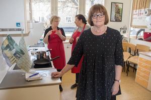 Anita Leanderson är glad över att  en ny yrkesutbildning tar fart på Sjöviks folkhögskola