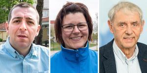 Roger Haddad (L), Liane Blom (L)) och Magnus Bohman (L).