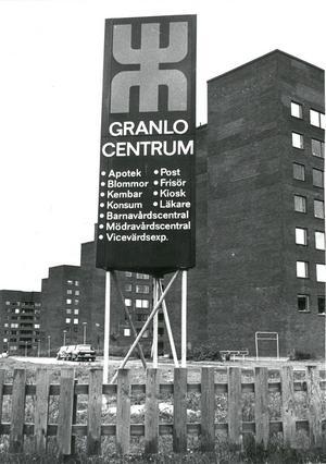 Granlo centrum 1974.
