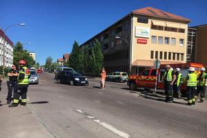 Olyckan inträffade på Hagalund i Borlänge, vid korsningen mellan Hagavägen och Vasagatan.