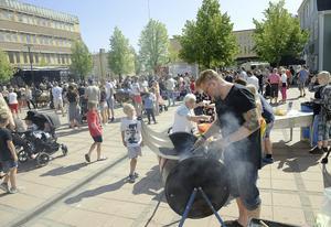 Kramforskarnevalen fick många besökare under lördagen.