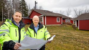 Inge Eklund och Stefan Nilsson på Mälarenergi - affärsutvecklare på Mälarenergi respektive avdelningschef på Mälarenergi Värme.