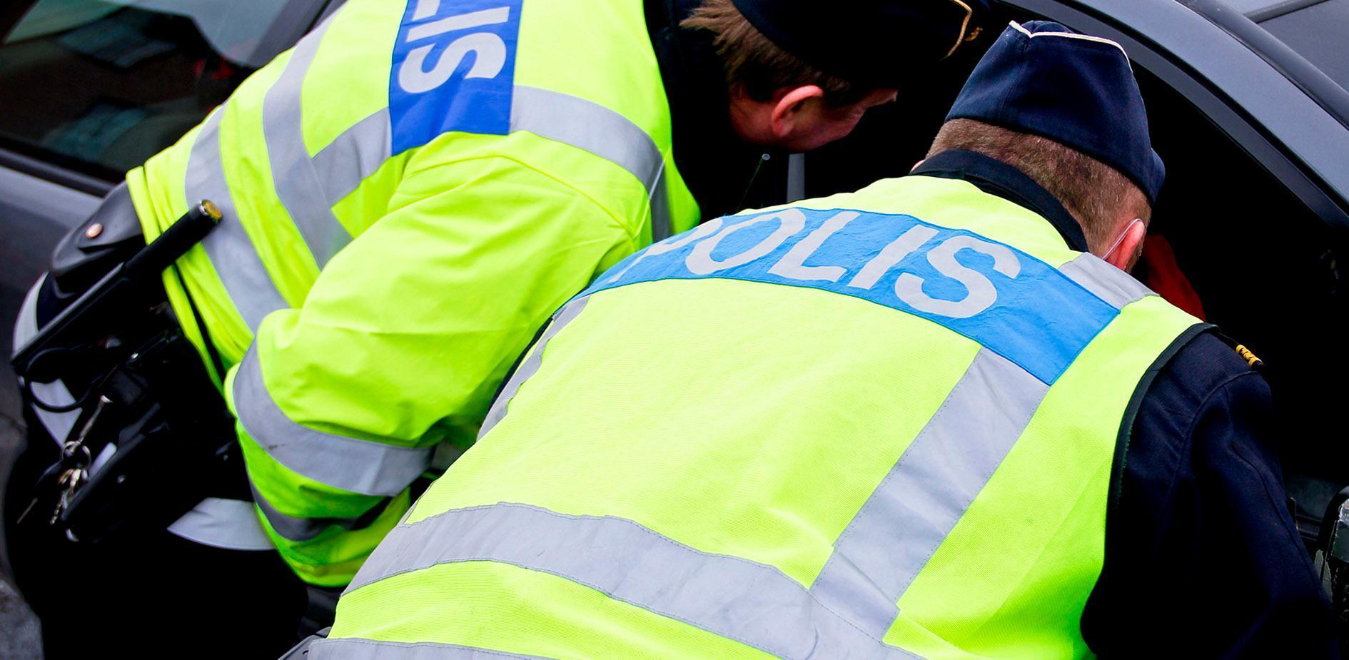 Narkotikapåverkad bilist stoppades i Torvalla