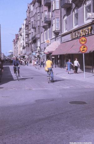 Bild 8: 1970-talet. Till den här får du ingen ledtråd. Fotograf: Okänd (Bildkälla: Örebro stadsarkiv)