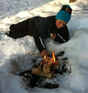 Jacob under uppväxten i Boden. Den innehöll bland annat en rekordkort skidkarriär.