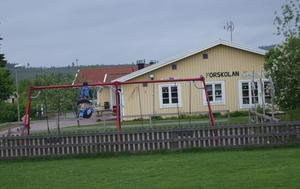 Den kommunala förskolan vid Kyrkskolan i Gagnef.