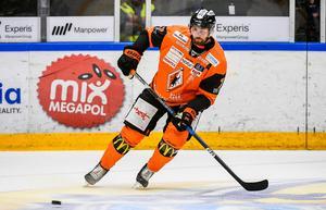 Mattias Karlsson i KHK-tröjan. Foto: Suvad Mrkonjic/TT