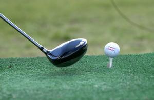 Bilden är en arkivbild och visar en annan golfbana än den i Hallstavik. Foto: Fredrik Sandberg/SCANPIX