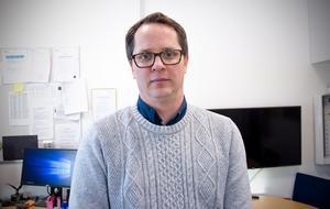 Rektorn på Runsviks skola Mathias Mjörnheim.