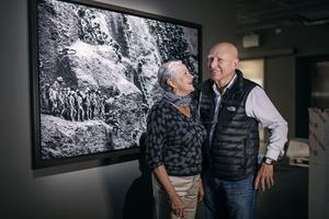 Bildjournalisten Sebastião Salgado är aktuell med en utställning om människors umbäranden i den brasilianska guldgruvan Serra Pelada på Fotografiska i Stockholm. Bild: Stina Stjernkvist / TT