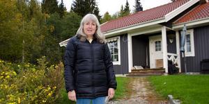 Christina Dalenius och hennes man Lars har bott i Målsta sedan 1991.