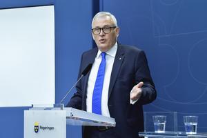 Anders Knape (M), ordförande för SKR.