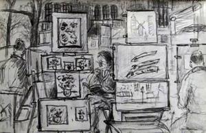 Dalarnas konstutställningar bör hållas stängda i coronatider, skriver insändarskribenten. Illustration: Tomas Holst