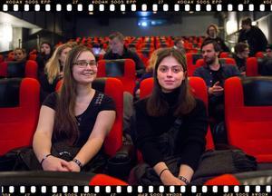 Emelie Klein och Yulia Antonova från Umeå arbetar båda med film.