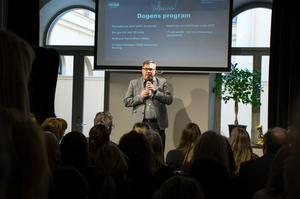 Anders Hedenius, styrelseordförande för Näringslivsbolaget, får hård kritik från delar av sin styrelse.