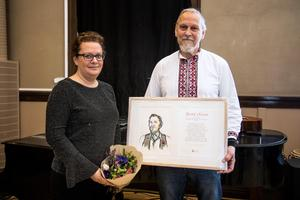 Motiveringen till varför Bertil Olsson fick stipendiet löd: