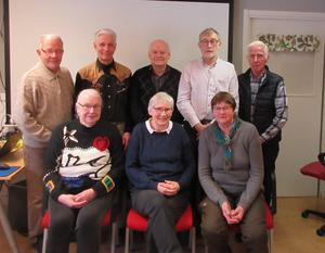 Styrelsen SeniorNet Sollefteå  Kalle Ström, Leif Widengren, Nils Berglund, Tore Fors, Rolf Könberg. Pia Hedberg, Britt-Marie Nilsson, Barbro Pettersson. Saknas:Birgitta Edvall