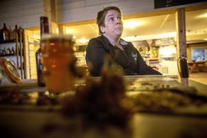 Sara Malmquist är utbildad bryggeritekniker och driver bryggeriet (samt restaurangen och boendet) tillsammans med Peter Johansson.
